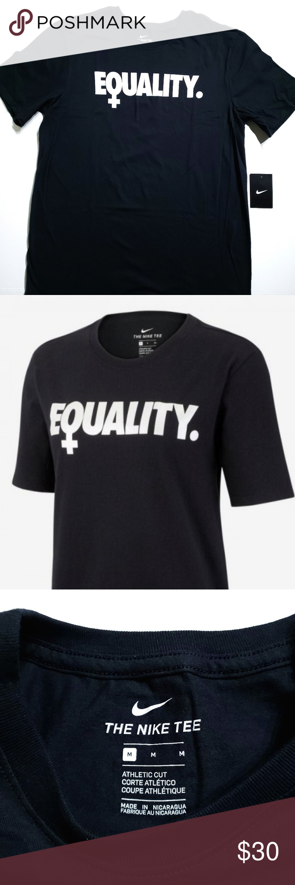 8315ecf08e Nike Equality International Womens Day T-Shirt EQUALITY The Nike ...