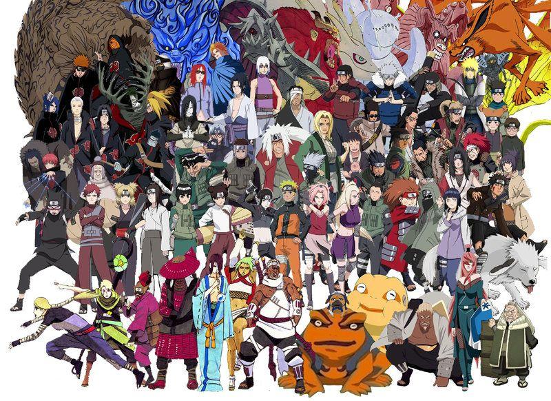 Naruto Characters Google Search Naruto Characters Artist Art