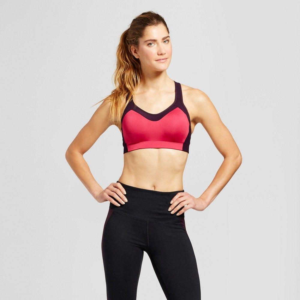 9ca6142824 Women s Power Shape Medium Support Sports Bra - C9 Champion - Deep  Raspberry M
