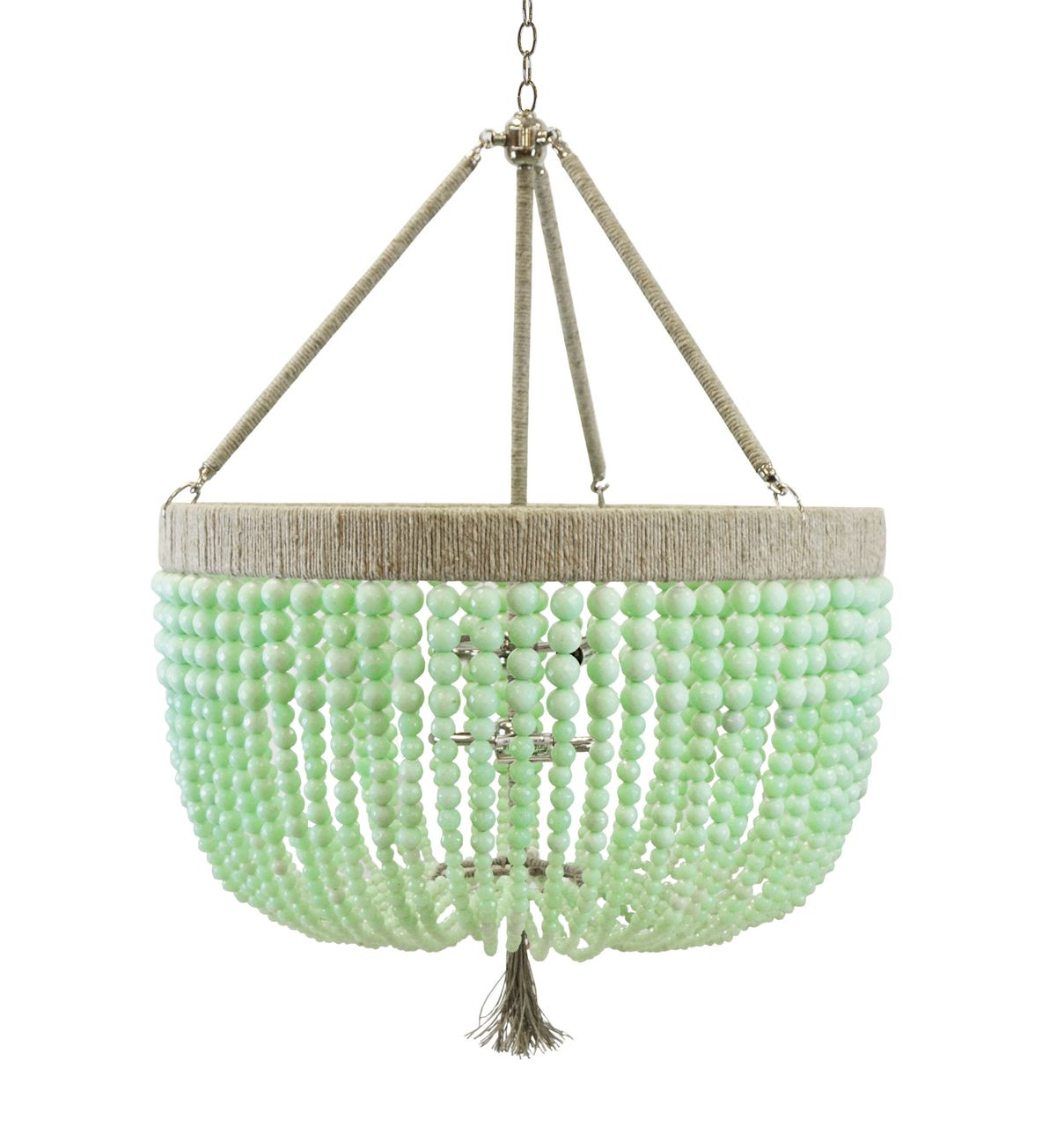 Ro sham beaux malibu robins egg 3 arm chandelier bold colors shop for a ro sham beaux malibu robins egg 3 arm chandelier uniquely designed with sustainable recycled materials infusing bold colors for a coastal mozeypictures Images