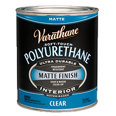 Varathane Soft Touch Polyurethane Is An Acrylic Polyurethane Formulated To Provide A Soft Smooth Feel To The C Painting Ceramic Tiles Painting Tile Varathane
