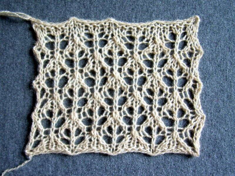 adorable knitted lace; chart; punto traforato; | knitting ...