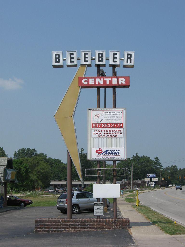 Googie Sign, Trotwood, Ohio Googie, Ohio, Dayton ohio