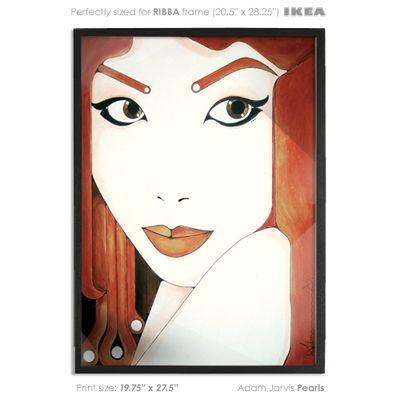 Pearls - Art Print | Paintings | Pinterest | Art online, Vector art ...