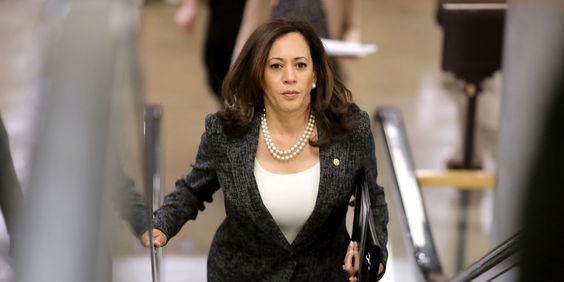 "Conservative industries with strict dress codes can make fashion choices difficult. Kamala Harris gives us a reason to use ""stylish"" and ""political figure"" in the same sentence. Werkaholics is a blog focused on professional/business attire for women. It's run by two Charlotte attorneys."
