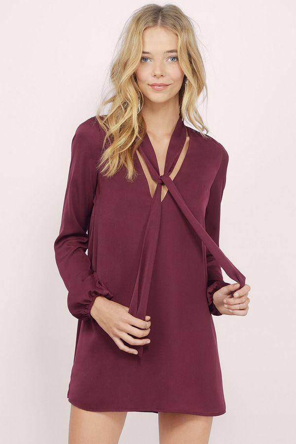 0ba1fe51524c All Tied Up Shift Dress   Designs- Contemporary   Dresses, Dresses ...