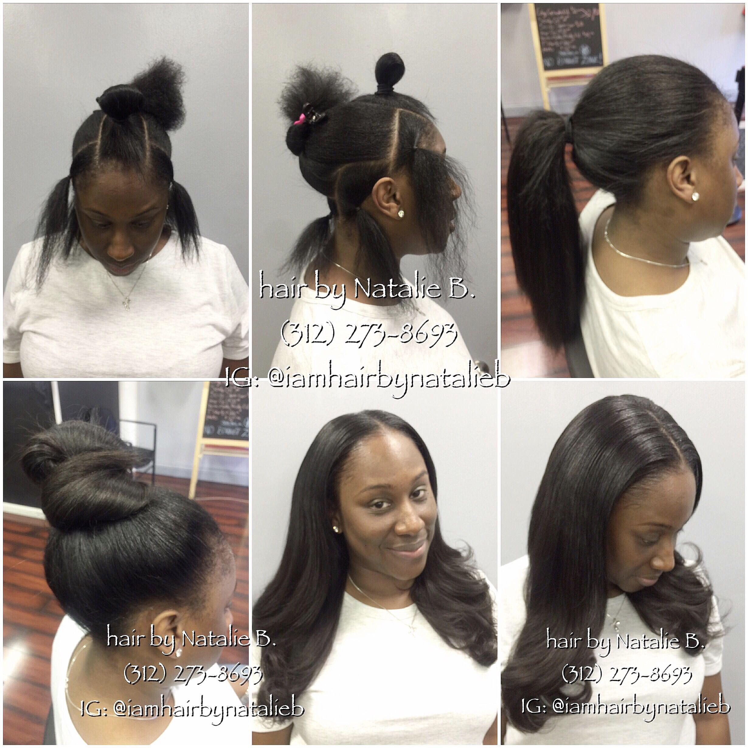 so natural-looking and versatile!😍 ***perfect pony™ sew-in