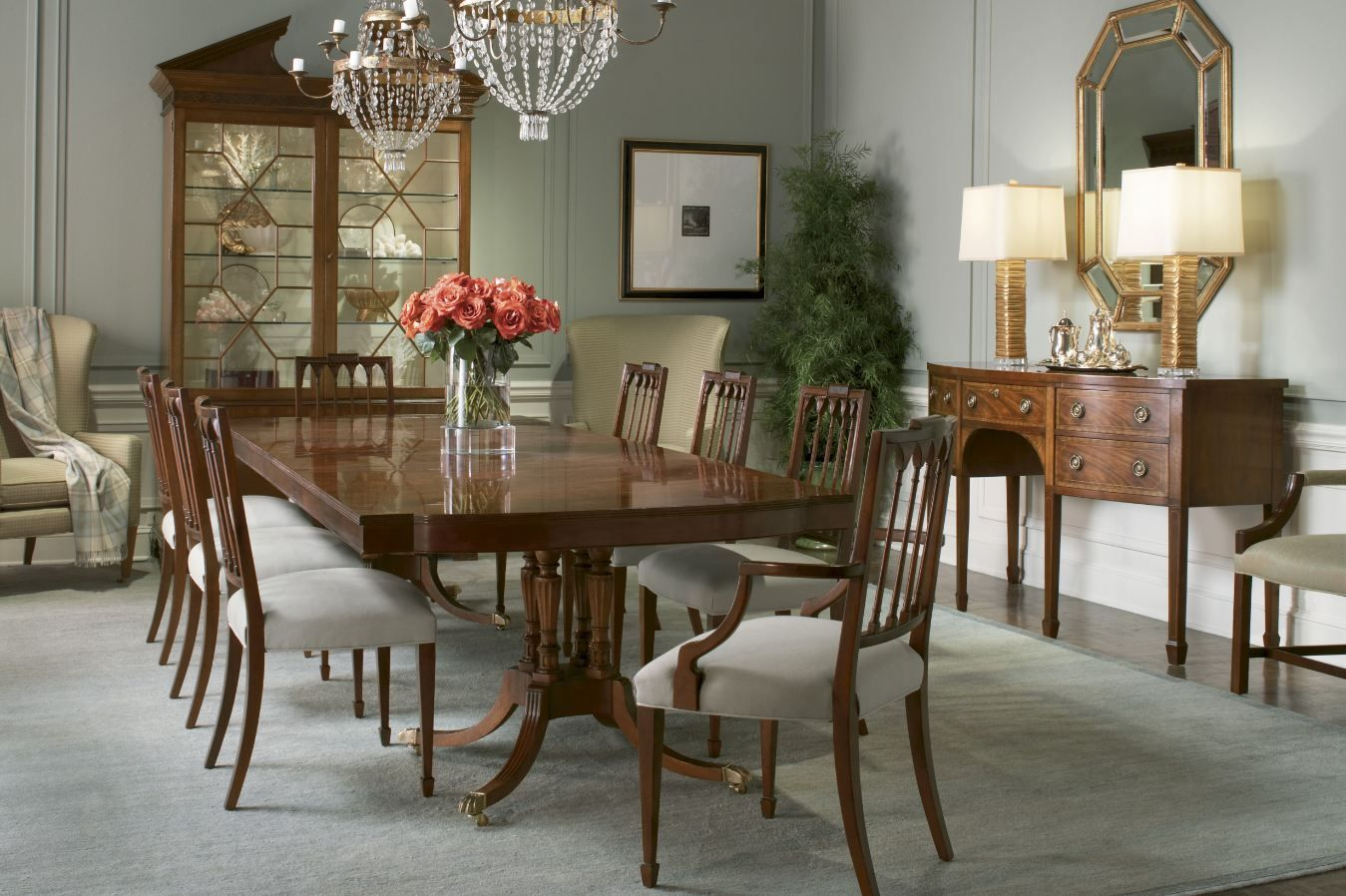 Historic Charleston Collection from Baker | Dining Room ...