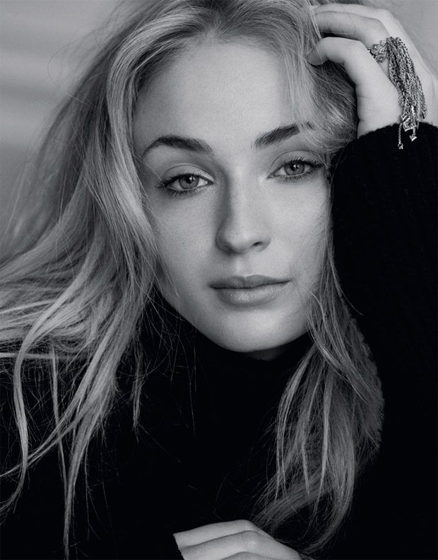 Sophie Turner is the Cover Girl of Marie Claire UK August 2017 Issue
