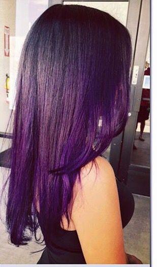 that purple ombre hair pinterest lila haare haar ideen und ombre lila haare. Black Bedroom Furniture Sets. Home Design Ideas
