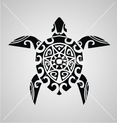 tribal-turtle-vector-2030792.jpg (380×400)