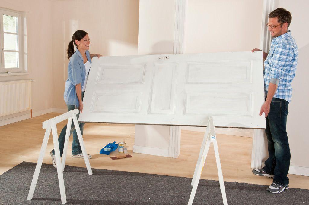 t r lackieren innenr ume room design pinterest t ren lackieren t r renovieren und lackieren. Black Bedroom Furniture Sets. Home Design Ideas