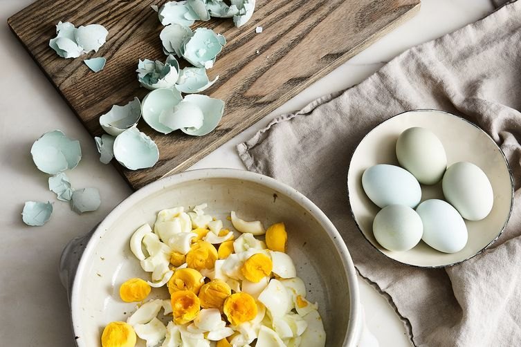 Nancy silverton s egg salad with bagna cauda toast recipe