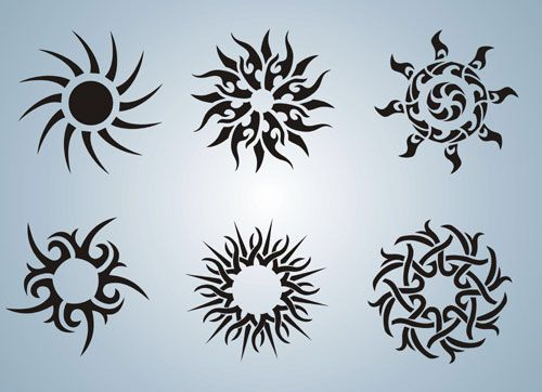 Sun Ink Simple Tattoo Designs Henna Tattoo Designs Sun Tattoo