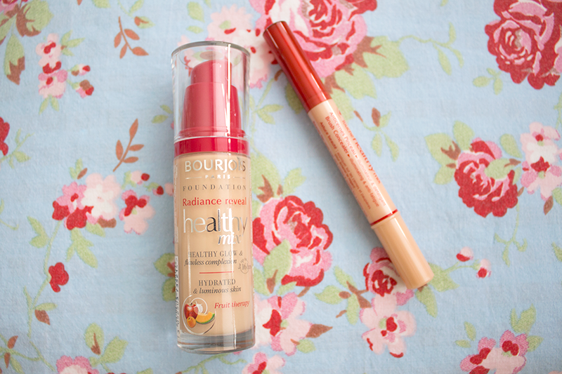 Bourjois Healthy Mix Radiance Reveal Foundation Illuminating Brush Concealer Bourjois Lifestyle Blog Makeup