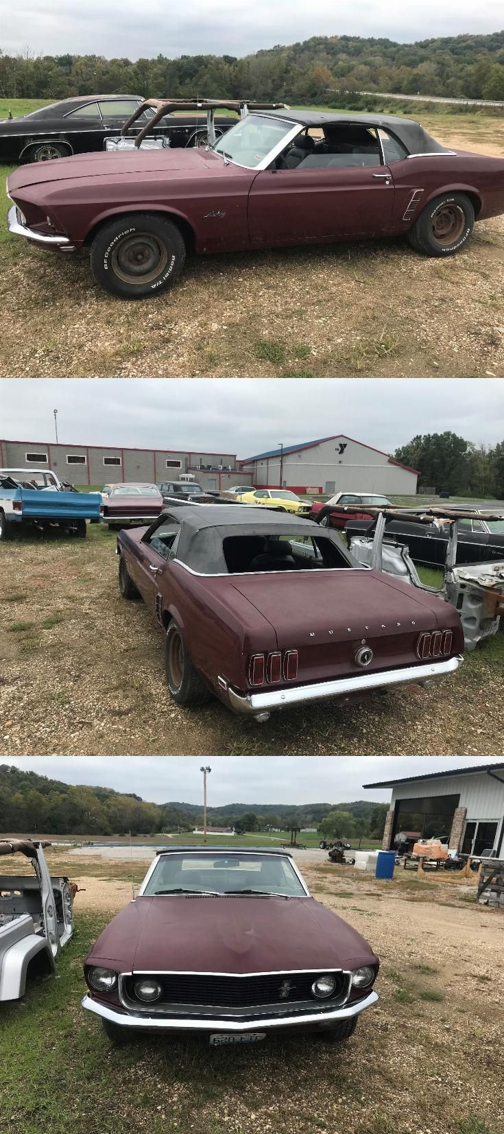 pretty original 1969 Ford Mustang project   Ford mustang ...