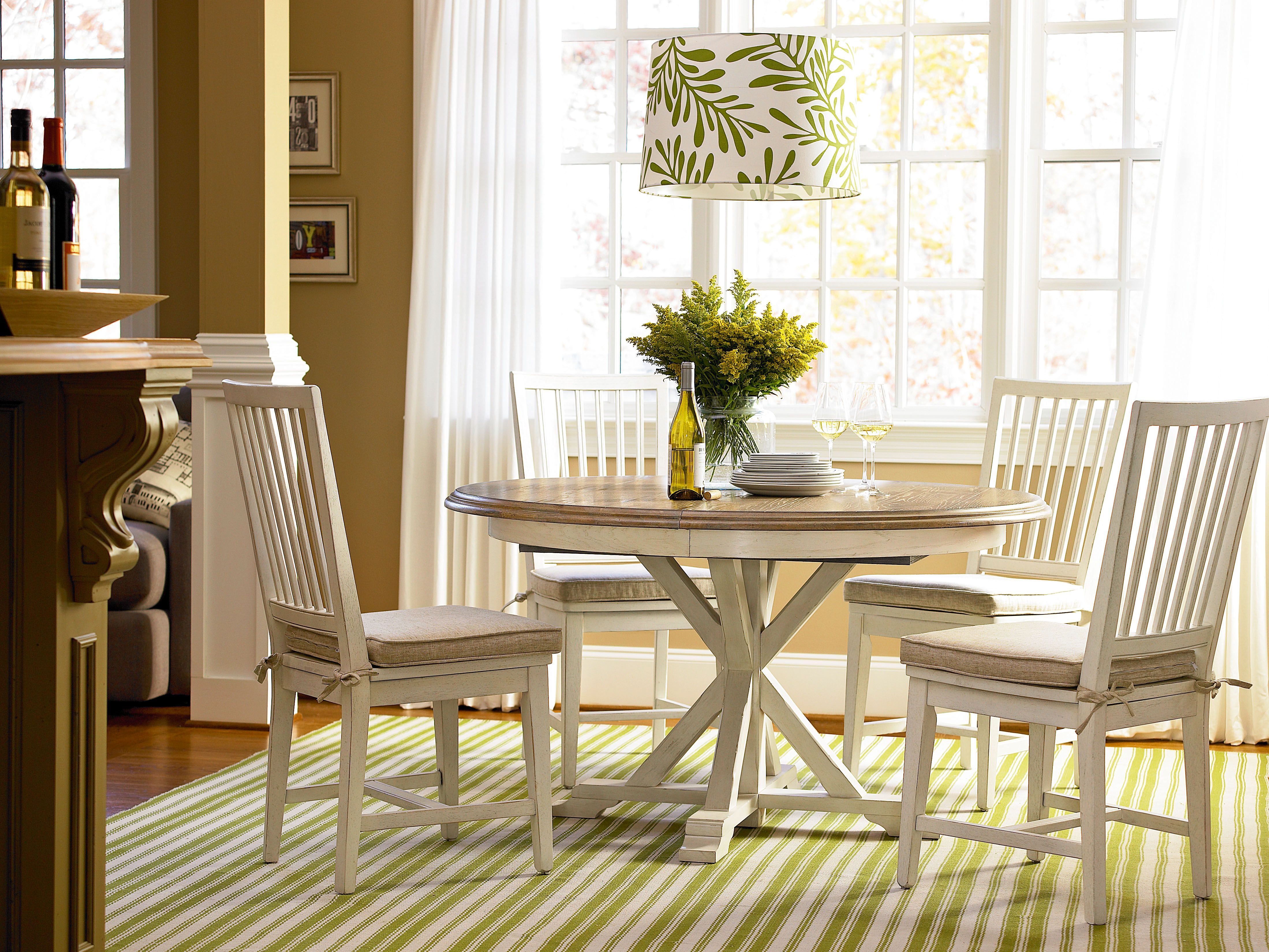 Great Rooms Collection Garden Breakfast Table With Side Chair Magnificent Comfortable Dining Room Sets Decorating Inspiration