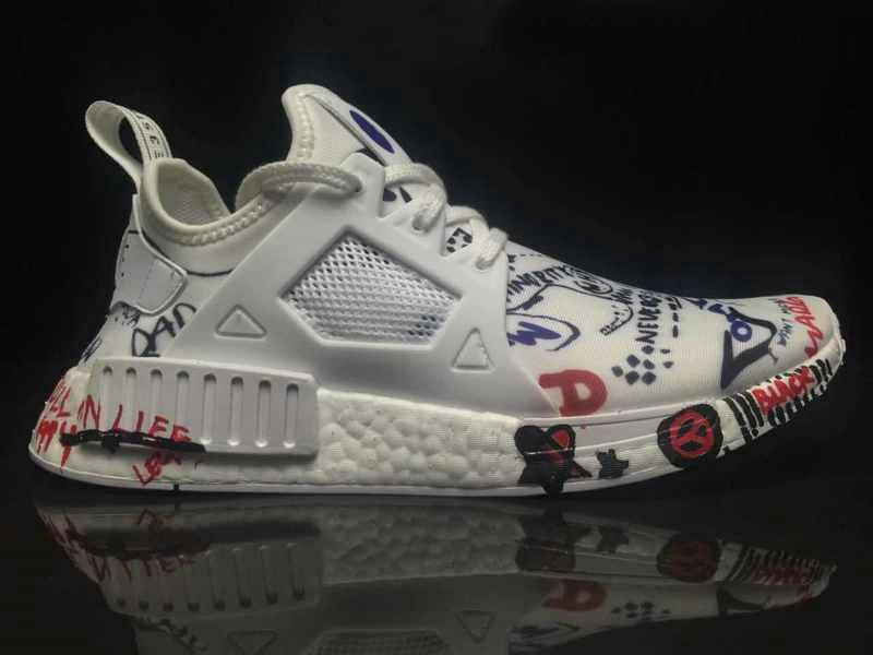 3ed9787d0 2018 Real Fashion Popular Vetements x Adidas Comsortium NMD XR1 Boost White  BA7766 Shoe