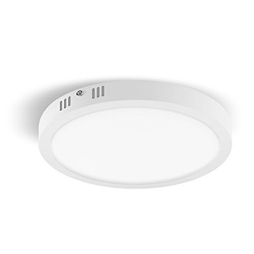 Knaclean Led Ceiling Light 7 Inch 18w Non Dimmable Led Flush Mount Ceiling Light With 1350lm Lumino Flush Mount Ceiling Lights Led Ceiling Lights Dimmable Led