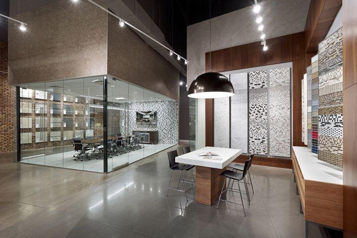 Interceramic showroom by callisonrtkl san antonio and - Bathroom design showroom dallas tx ...