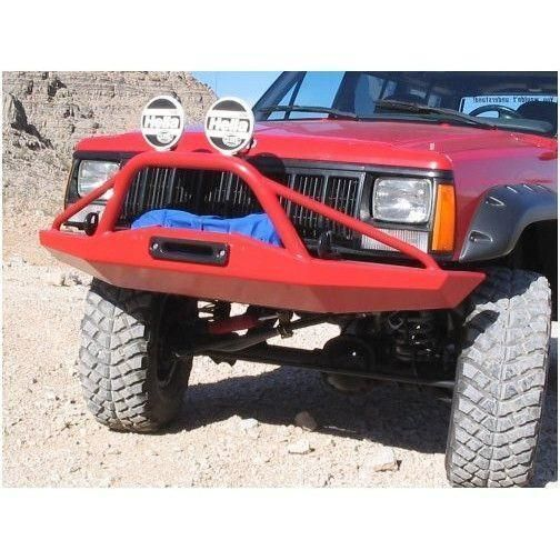 Xj Cherokee Front Bumper With Stinger Stealth Style Zj