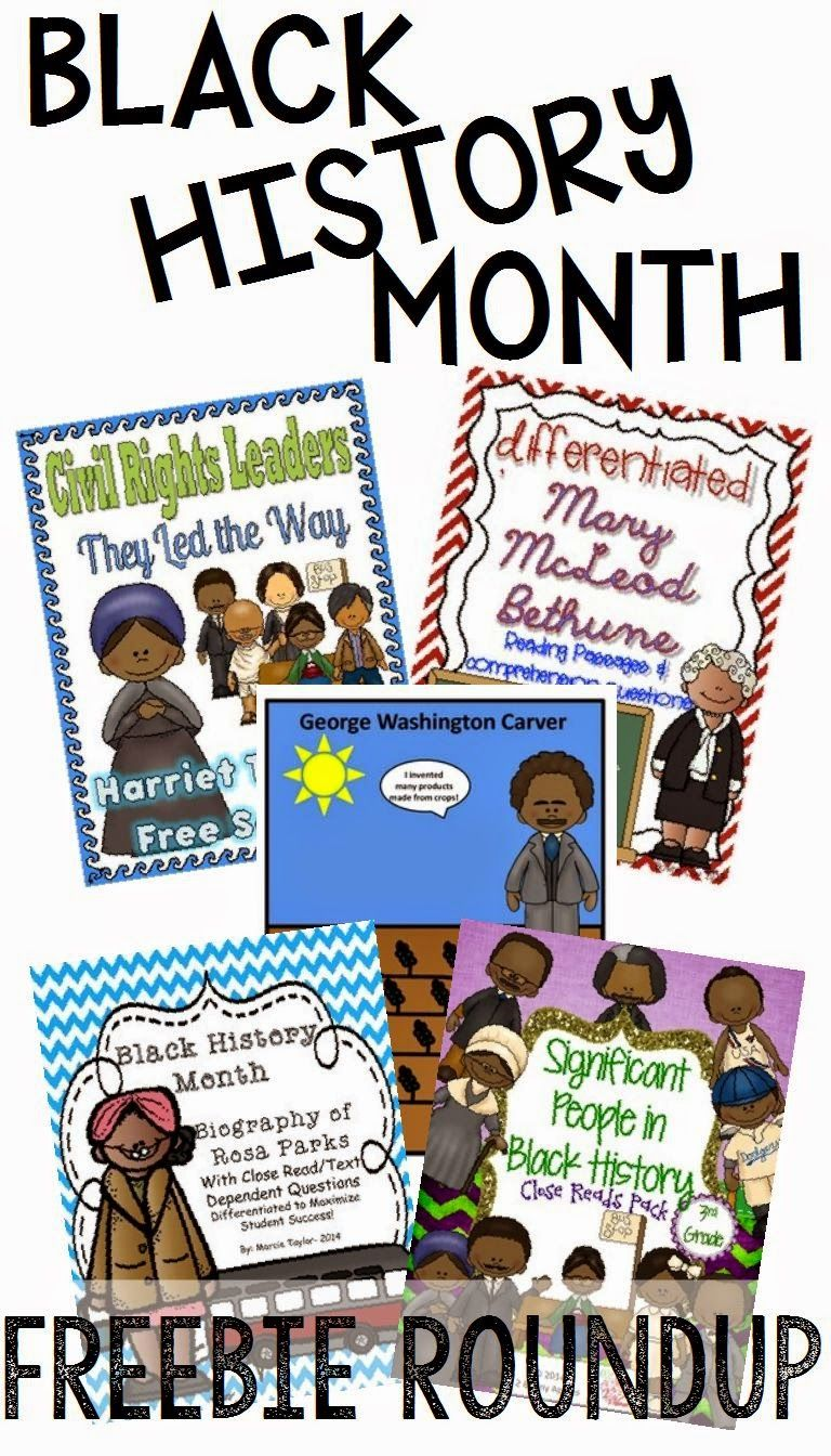 Photo of Black History Month FREEBIE Roundup!