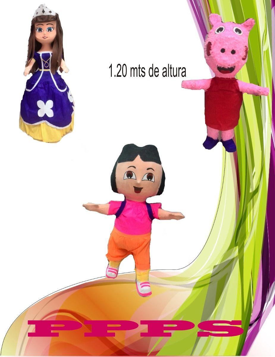 (4) Oferta Gran Variedad En Piñatas Tenemos Todos Los Modelos - Bs. 2.999,00 en MercadoLibre
