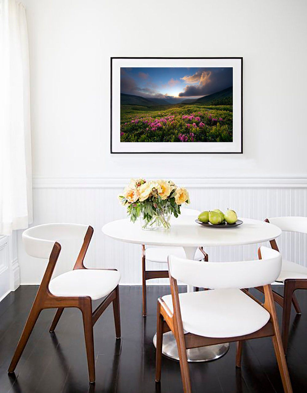 Large wall art print mountains photo nature landscape print limited
