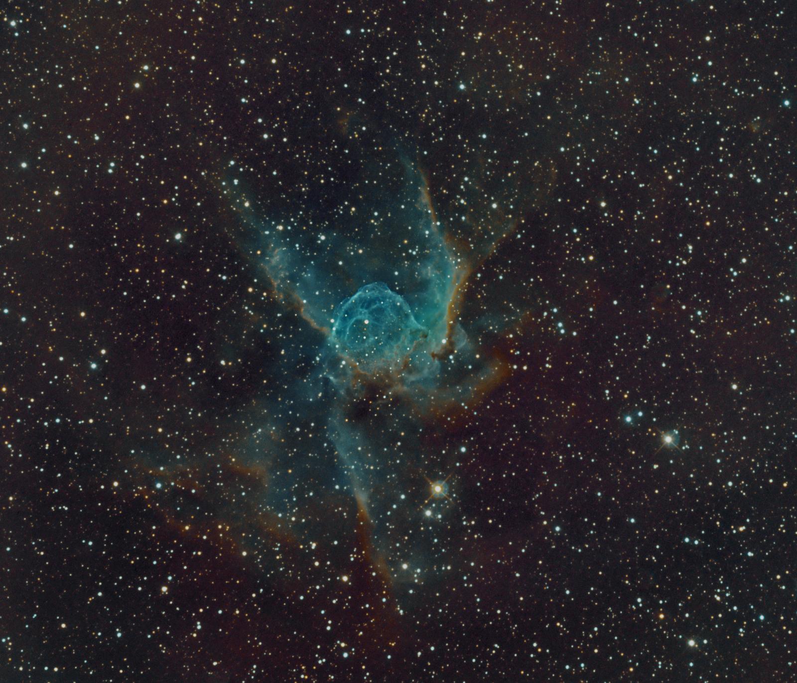 Nebulosa Elmo de Thor