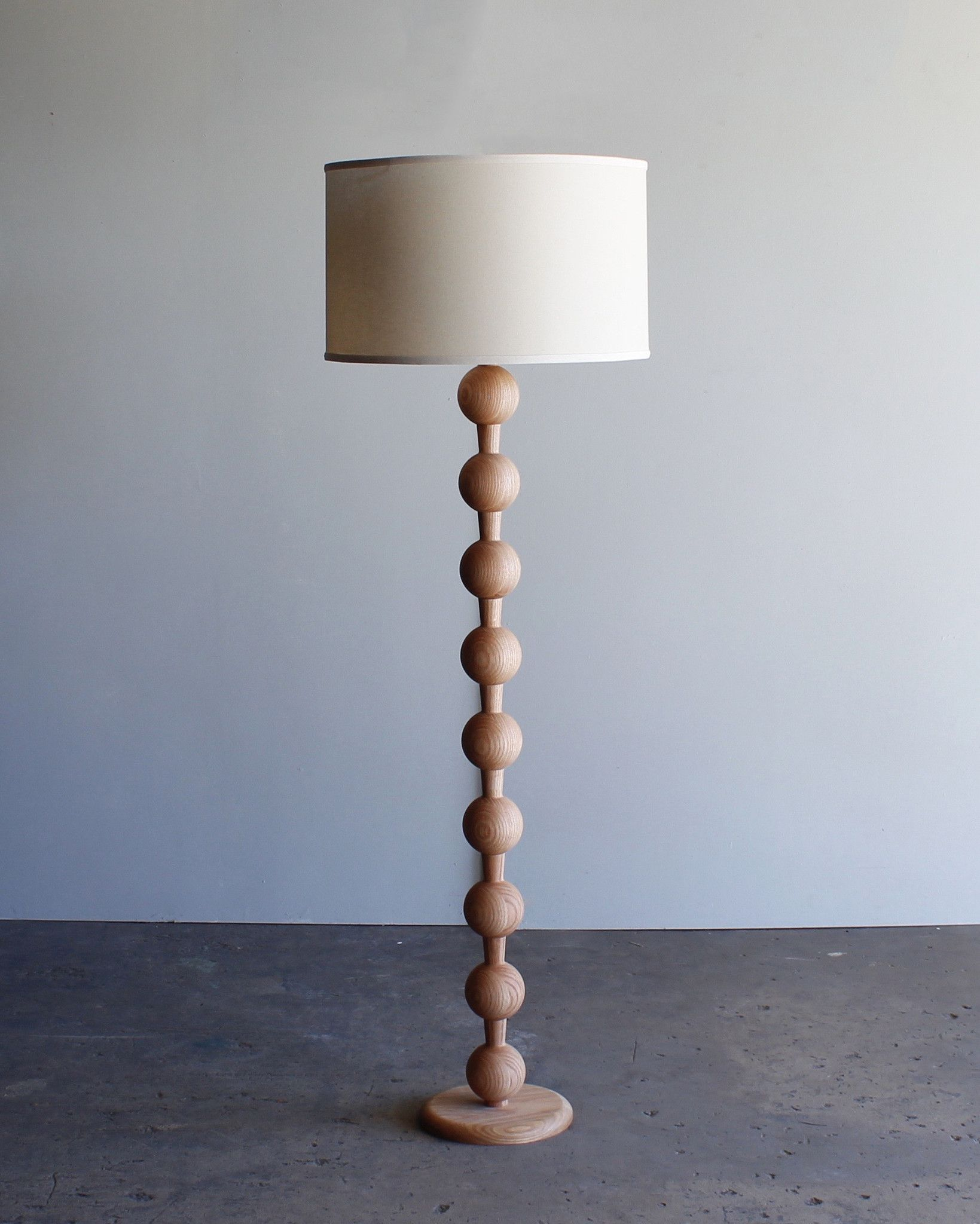 Hugo Barbell Floor Lamp Floor Lamp Wood Floor Lamp Unique Floor Lamps