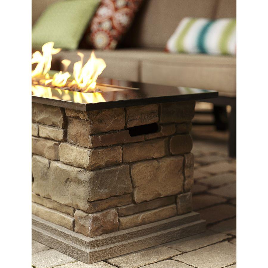 Shop Bond Canyon Ridge 20 In W 50 000 Btu Stone Look