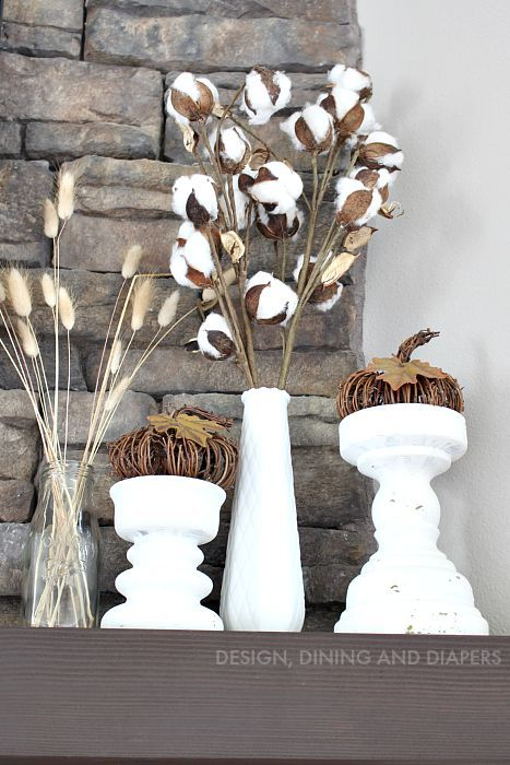 Rustic Fall Mantel Taryn Whiteaker Neutral Fall Decor Fall Decor Fall Mantel Decorations