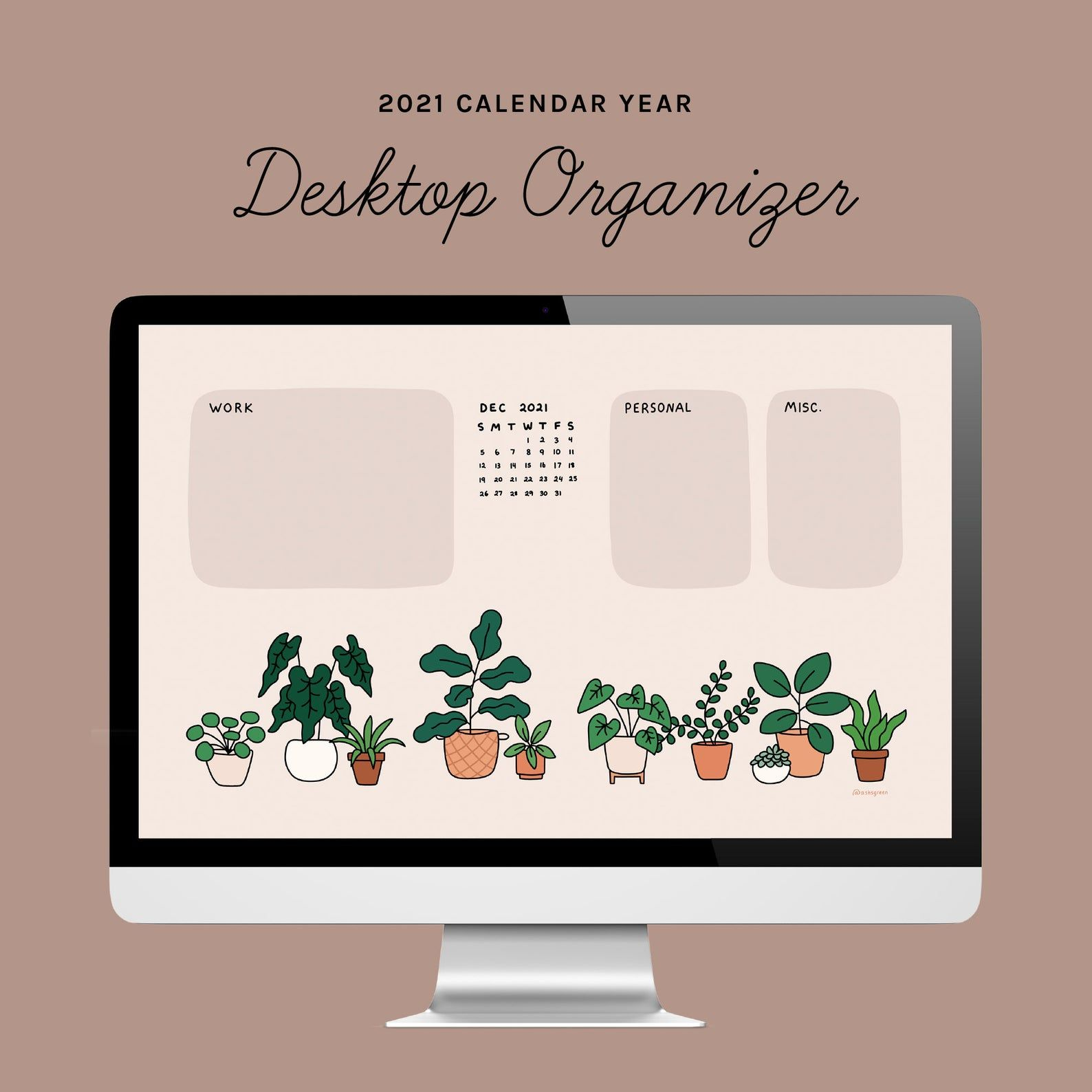 Desktop Wallpaper Organizer Cream Plants Theme For Small Etsy In 2021 Desktop Wallpaper Organizer Computer Wallpaper Desktop Wallpapers Desktop Wallpaper Desktop wallpaper organizer with