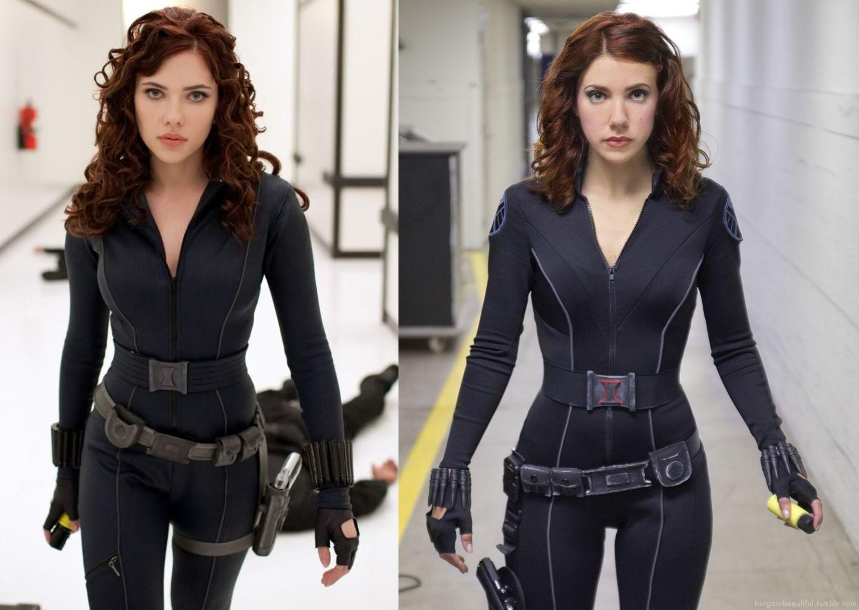Movie Quality Black Widow Costume From Iron Man 2 Tutorial