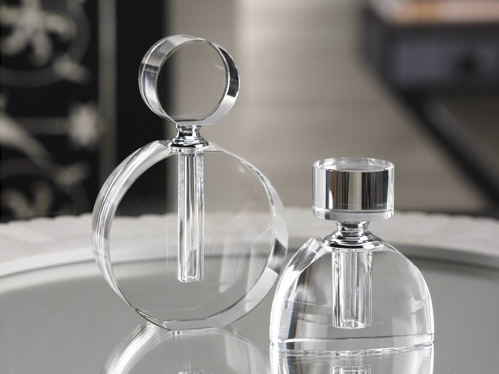 Modern Morocco Glass Perfume Bottle