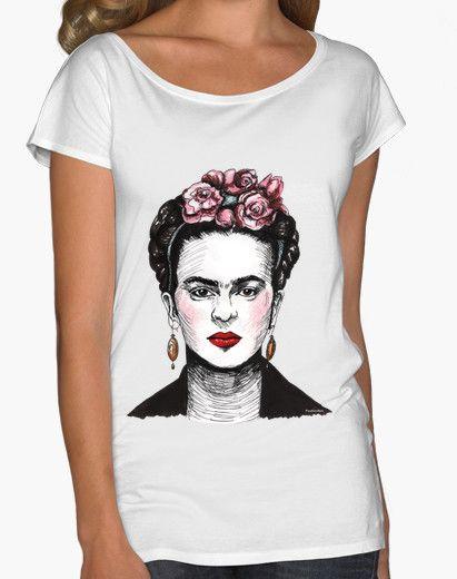 e025d2ea79728 Camiseta Frida Kahlo Camisetas Frida Kahlo