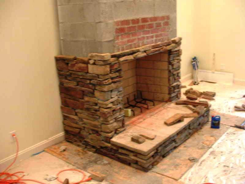 How To Build A Raised Hearth Fireplace Home Fireplaces Firepits Fireplace Hearth Fireplace Hearth Stone Stacked Stone Fireplaces