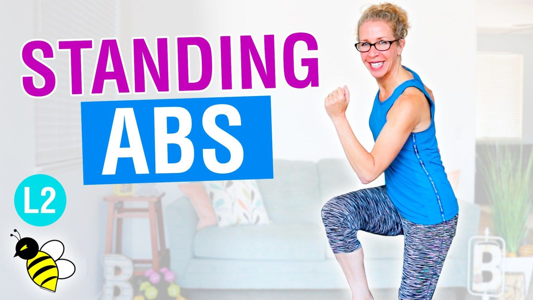 10 minute STANDING ABS HIIT | Standing abs, Standing ab ... Oblique Exercises Abe