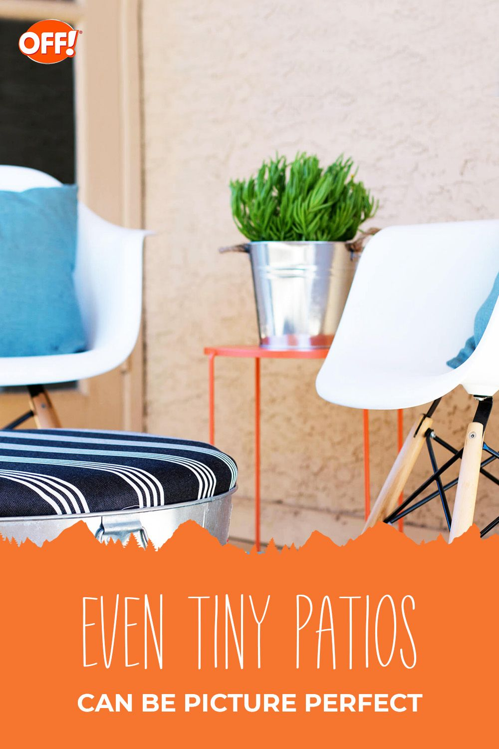 5 Ways to Make the Most of Small Outdoor Spaces | OFF!® Repellent