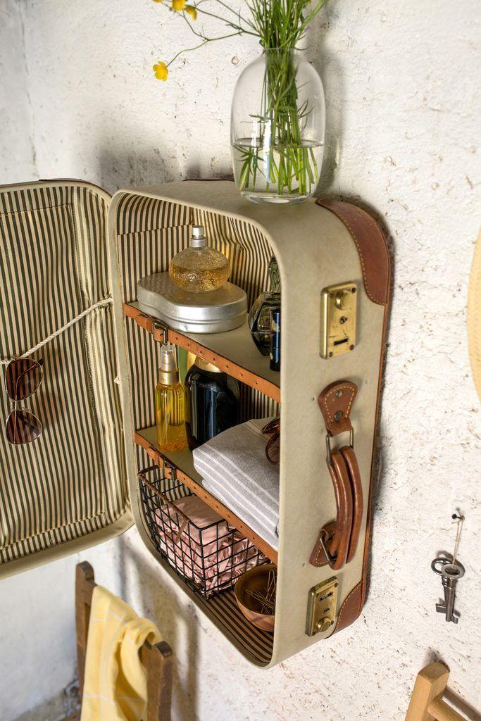 Zum Selbermachen: 2 Deko-Ideen mit alten Koffern