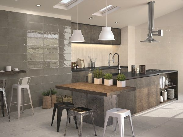Nt16 1010wp madison plomb kitchen tile inspo cocinas - Alicatado cocina ...