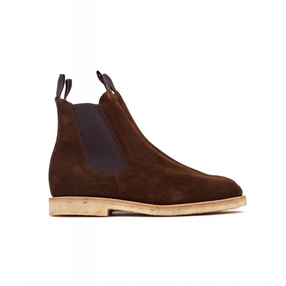 04b31eb300 Sanders Clint Chelsea Boot - Snuff Suede
