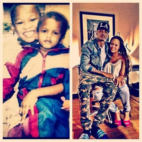 August Alsina And His Sister So Cute August Alsina