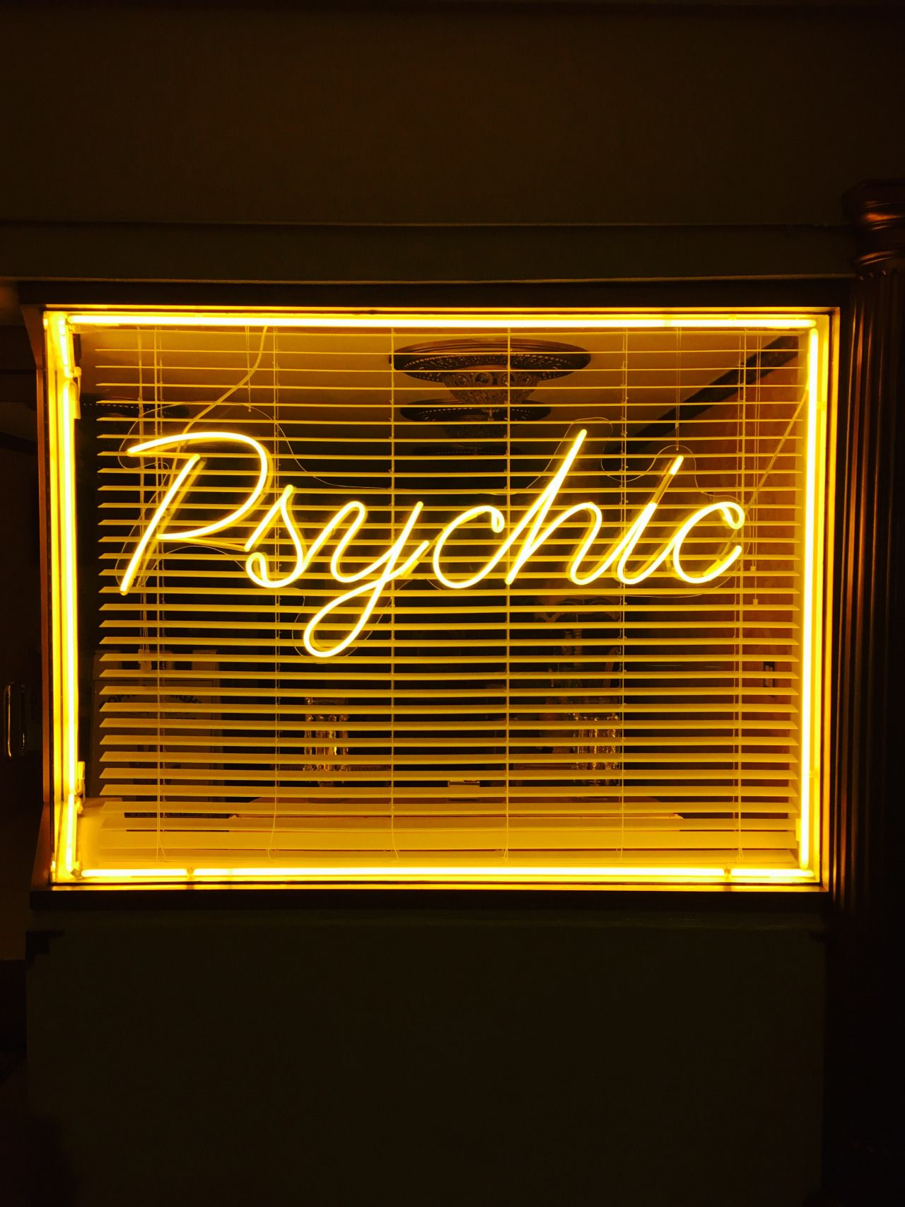 Psychic Yellow Aesthetic Neon Aesthetic Wallpapers