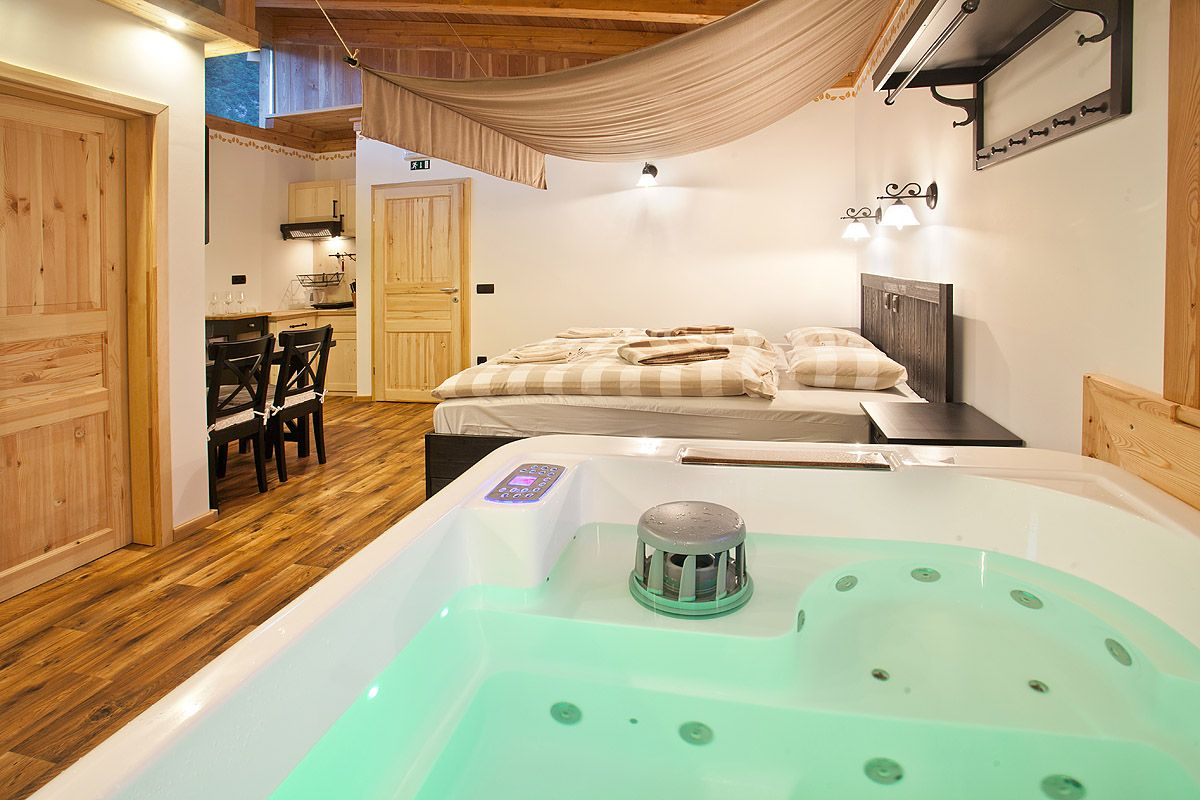 Apartment With Jacuzzi Glamping Tent Glamping Village