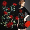 Rose kleidung jacquard gewebe bedruckte stoffe haute couture stoffe tuch kostenloser versand in                    Name: Jacquard Stoff                                             Gewicht: 350 gr/meter                aus Stoff auf AliExpress.com | Alibaba Group