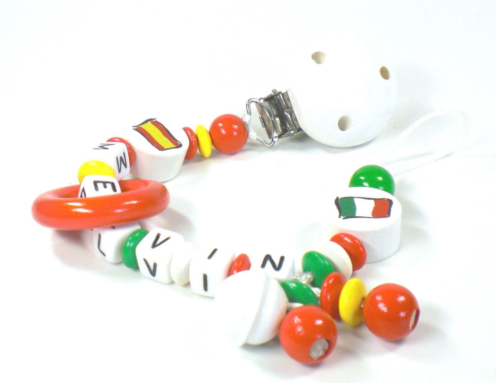 Schnullerkette Mit Namen Spanien Italien Pandora Charms Pandora Charm Bracelet Charm Bracelet