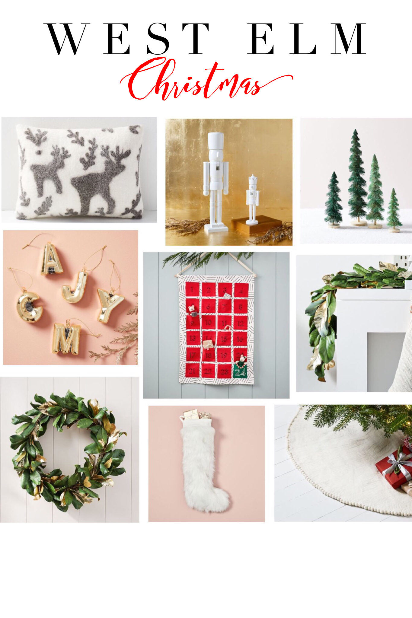 West Elm Christmas Ornaments.West Elm Style My Favorite Modern Finds Christmas Ideas
