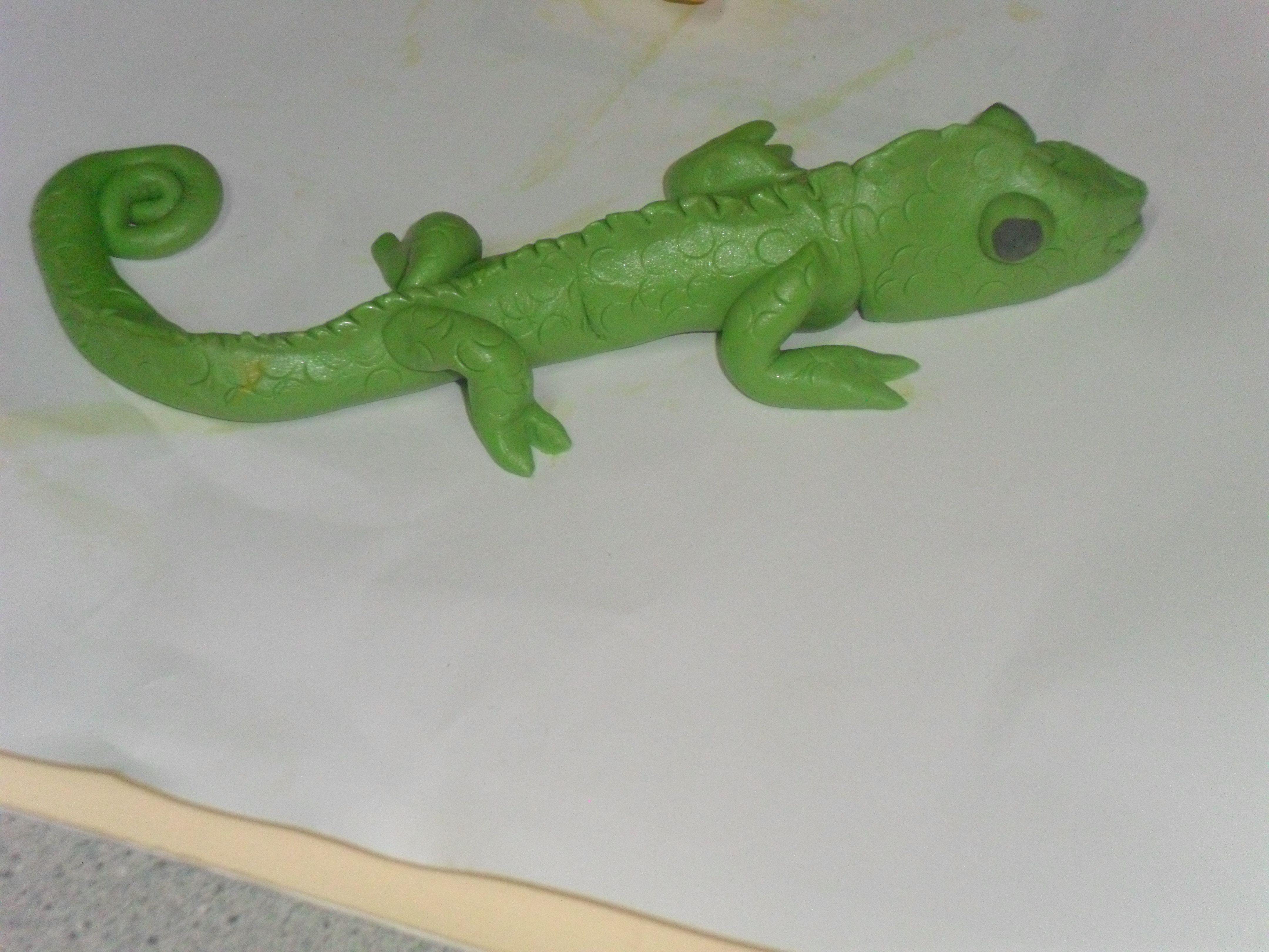 Play Dough Iguana