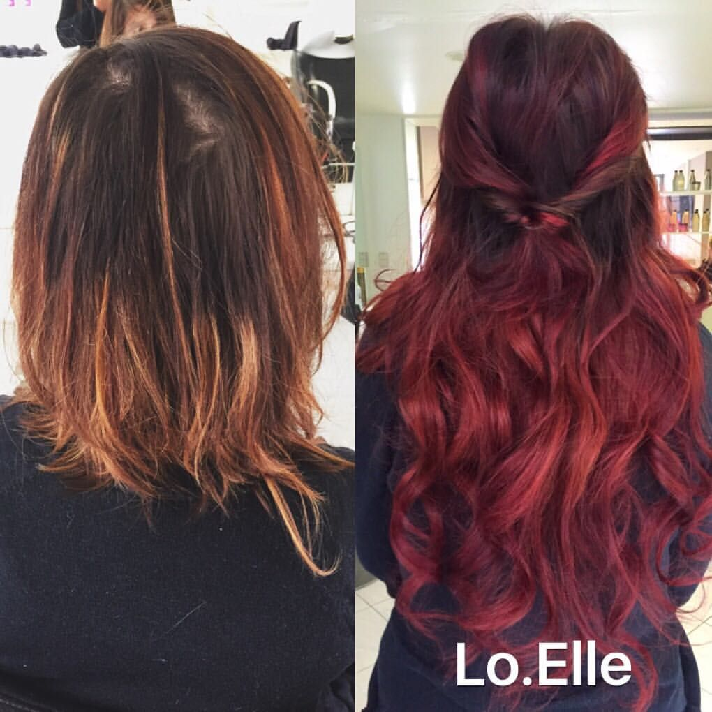 Hairextensions Hairextensionsgent Red Copper Redhair